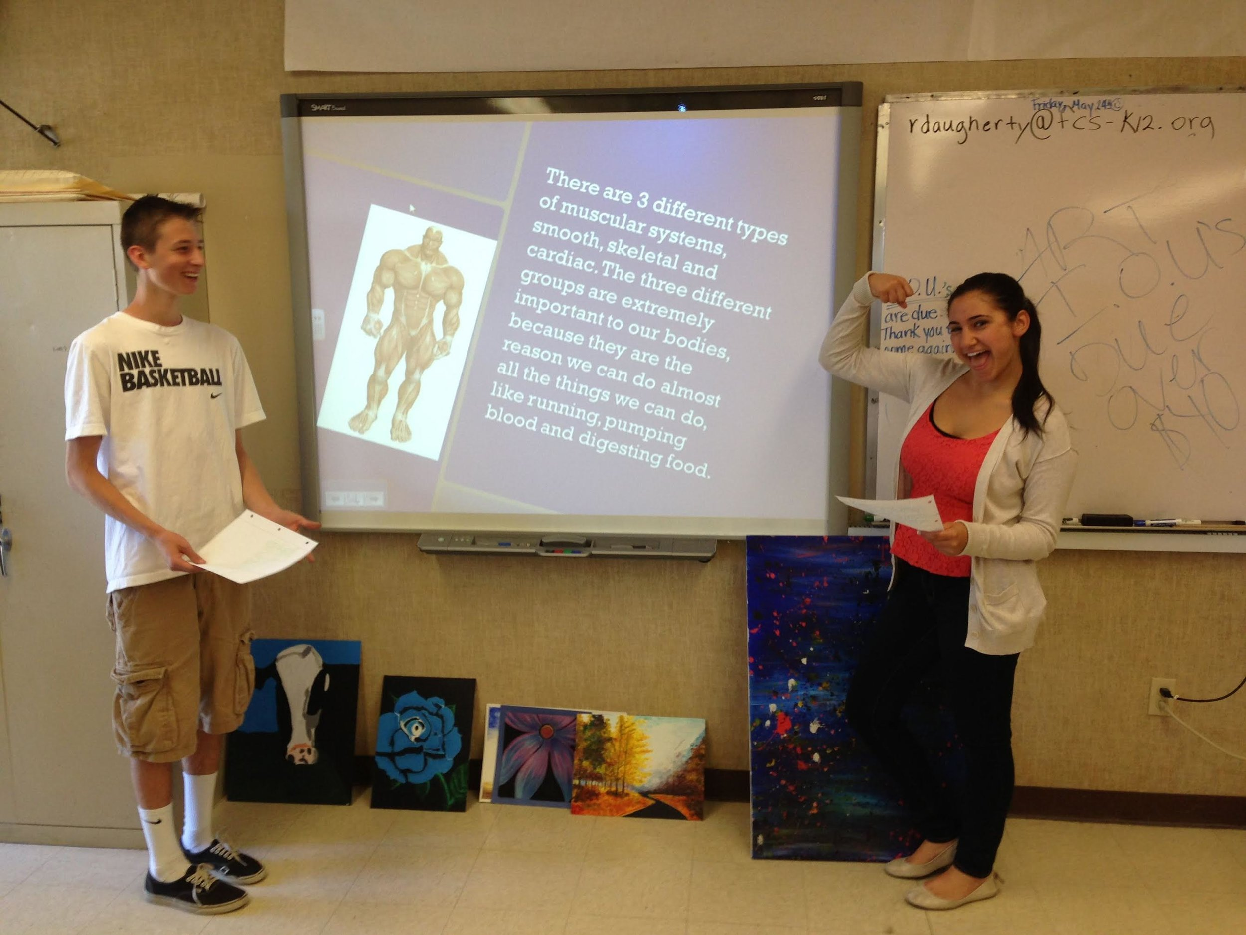 Health Class Muscular system presentation