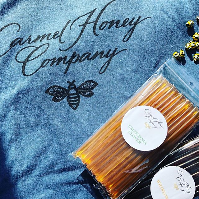 The honey sticks from @carmelhoneycompany have arrived for the Kids Bee Event tomorrow at VGK! 🐝 ALERT—  ONLY SIX SPOTS LEFT