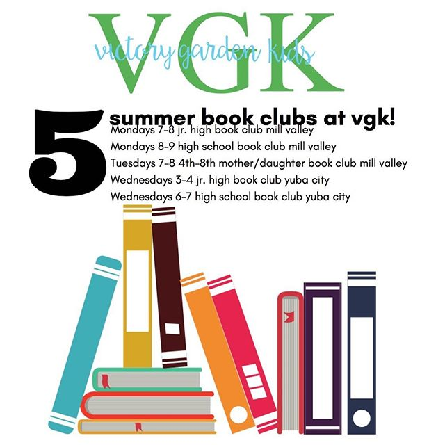 Mill Valley and Yuba City students! Check out these summer Power Hour Book Clubs scheduled just for you! I've got AMAZING books selected for us to read and discuss together.  And DONUTS. Did I mention DONUTS? Message me to reserve your spot!