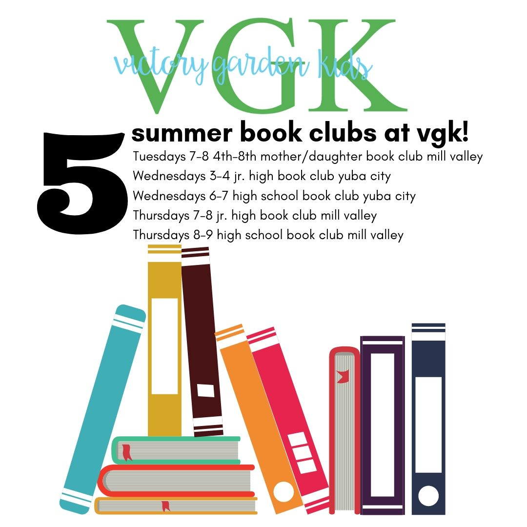 2019 Summer Book Club - Summer book clubs will help students enjoy and grow a love for reading while learning about ways authors use tools and strategies to engage readers! Age appropriate novels will be read aloud together and discussed in a safe, joyful, exciting learning environment! Many different age groups offered, including a mother-daughter option!$30 PER HOUR FOR ALL BOOK CLUBS (PRE-PAY COMMITMENT AT BEGINNING OF EACH MONTH)
