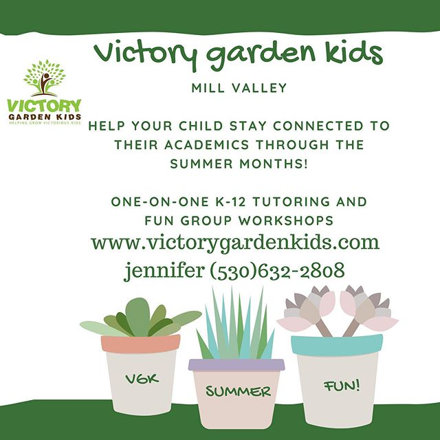 "Summer programs are ready for your kids in Mill Valley and Yuba City locations! Joyful, fun learning to Stay Connected and Get Connected"" to help them retain what they've learned and grow into their specific grade for the coming year. Link in bio for classes and sessions, or call us for details!"