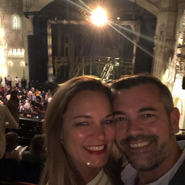 Stop #1 on the 26th Anniversary Train: #andpeggytour ! It was a HamilTEN! And BTW— @simonlonglegs YOU DELIVERED THE GOODS! We came to see you dominate and you BLEW US ALL AWAY!