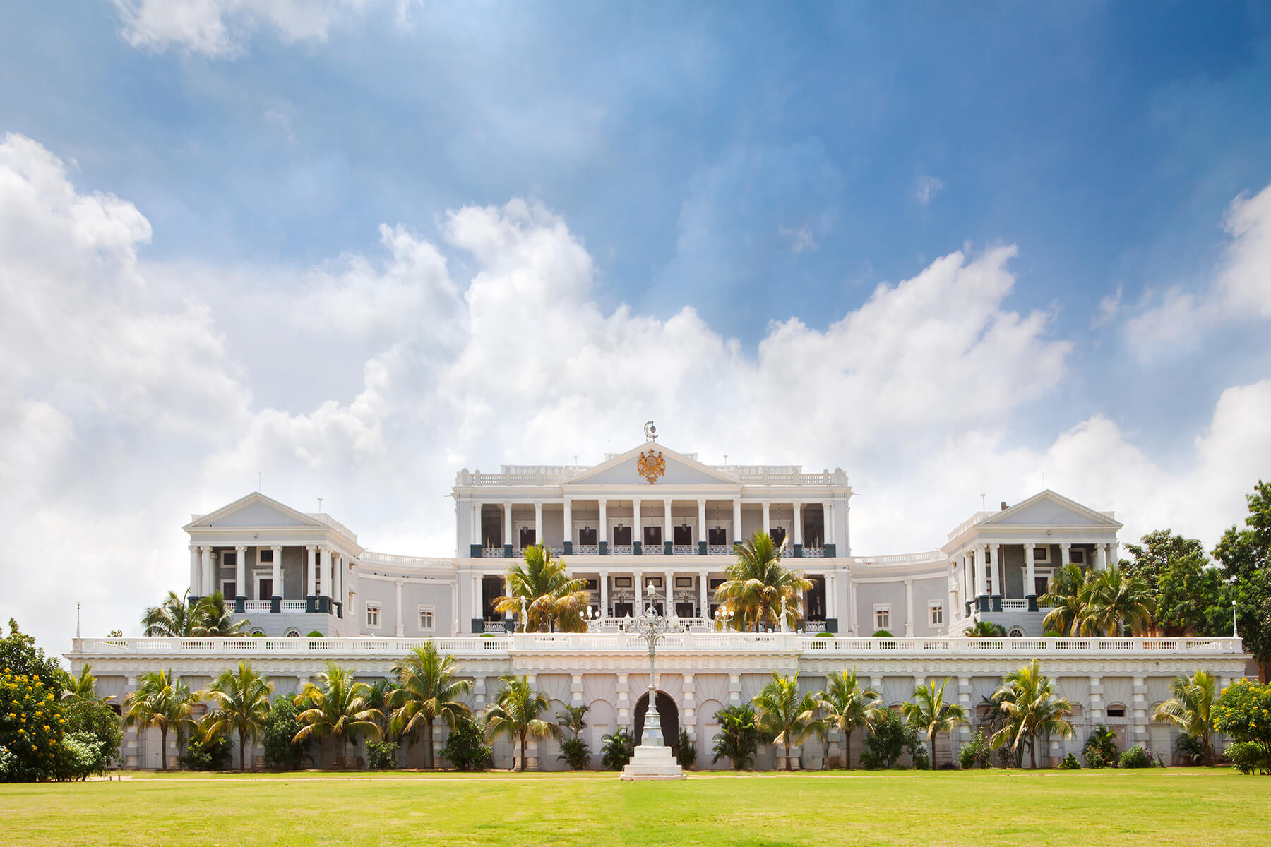 Accommodations in Hyderabad - The sumptuously renovated heritage property, the Taj Falaknuma Palace, will be our home while we explore the culinary and cultural treasures of Hyderabad, a place of great authenticity too often overlooked by travelers to India.