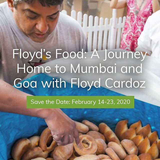 This guy! Best travel companion ever. Just ask our guests who traveled with #FloydCardoz this year. Don't miss the opportunity to be a part of the fun in 2020 | See link in profile for more information. . . . #KilachandandKarp #culinarytour #FloydsFood #indianfood #indiaisforfoodlovers #wanderlust  #gastotourist  #gastronaut #poee #Mumbai #Goa