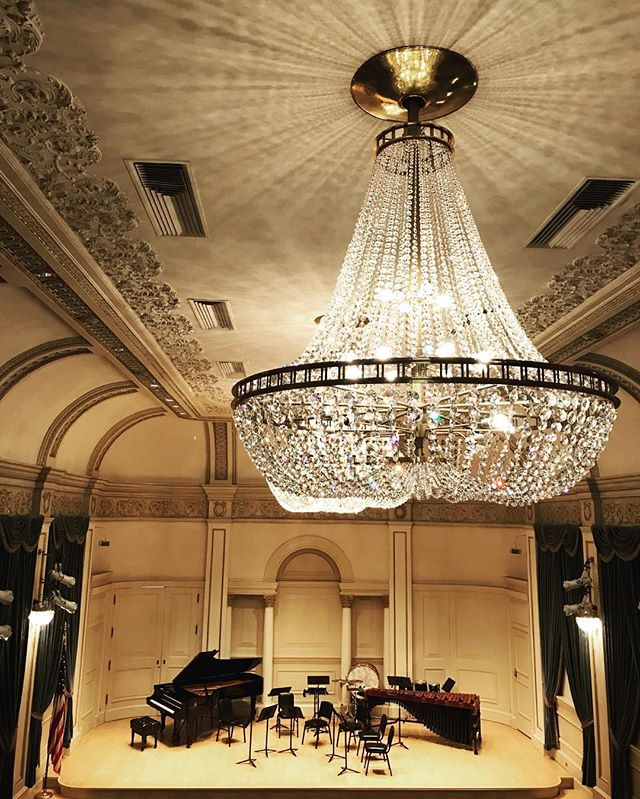 Less than two weeks until we return to Carnegie Hall! See you soon, NYC! #aotaensemble #newmusic #cincyarts #excited
