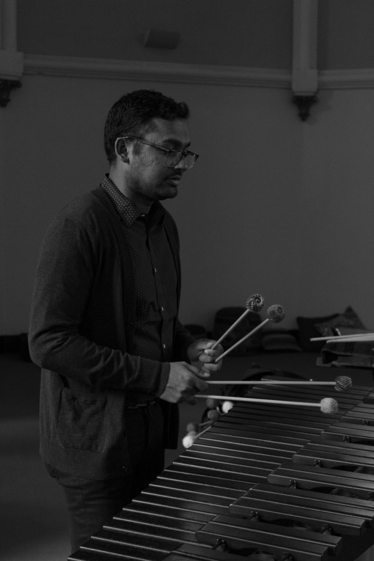 David Abraham, percussion -