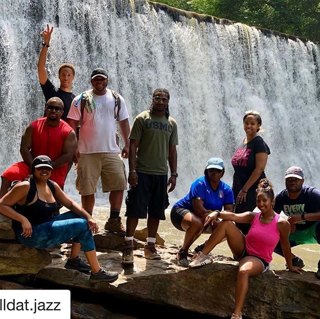 Got a hike in with the #atlantahikingcrew . So much fun and good energy.