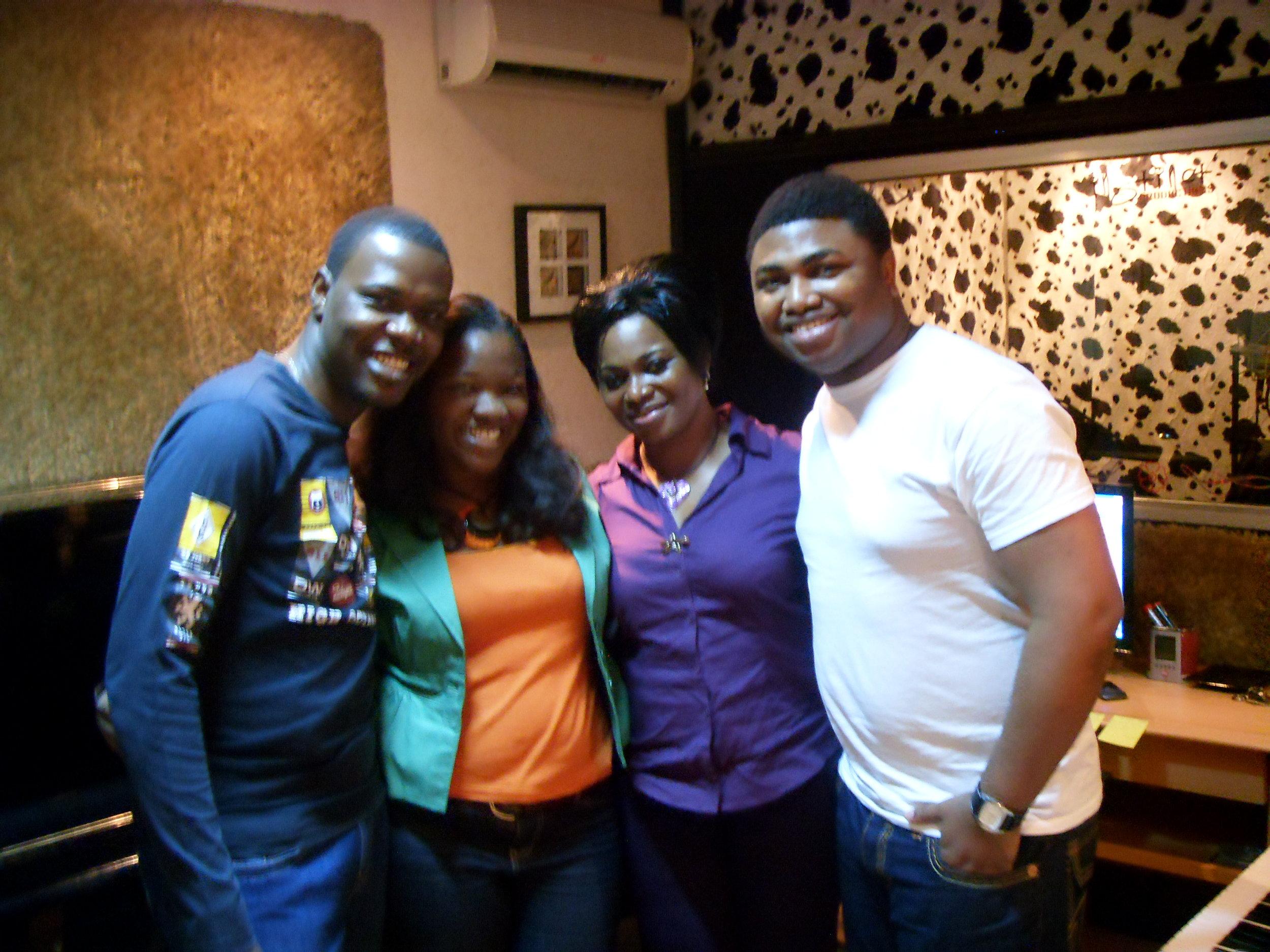 womp with Odunsi, Lara George and Tosin Martins.JPG