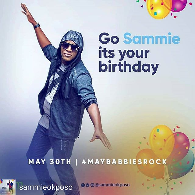Happy birthday to a great minstrel of our time. @sammieokposo Increase on every side. May the good Lord bless you this day and beyond