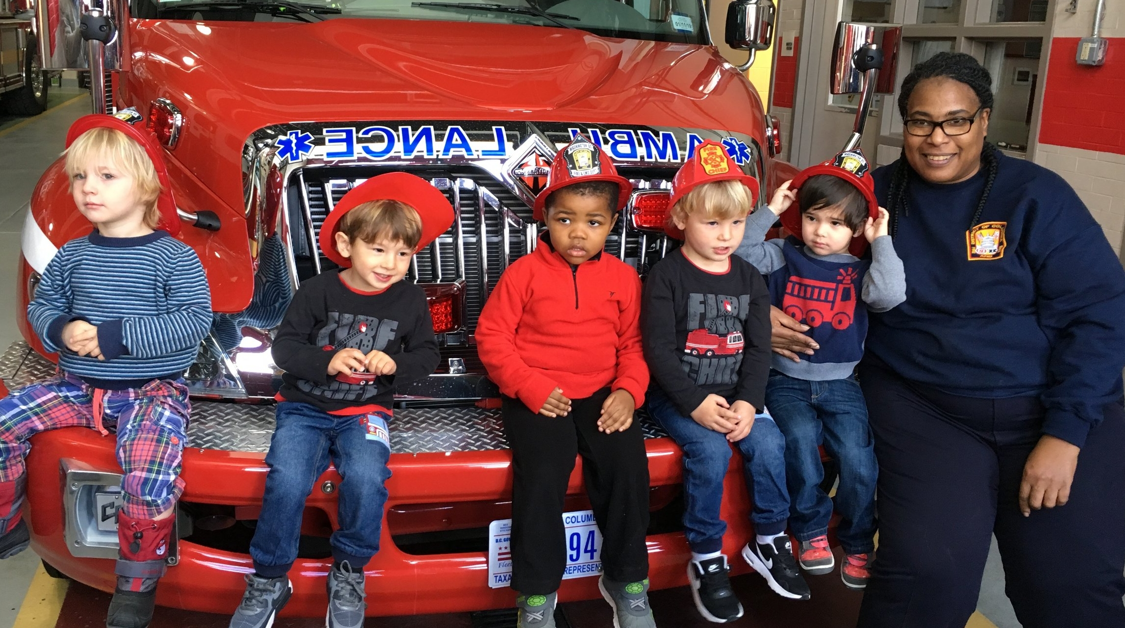 Field trip to the Palisades Fire Station.