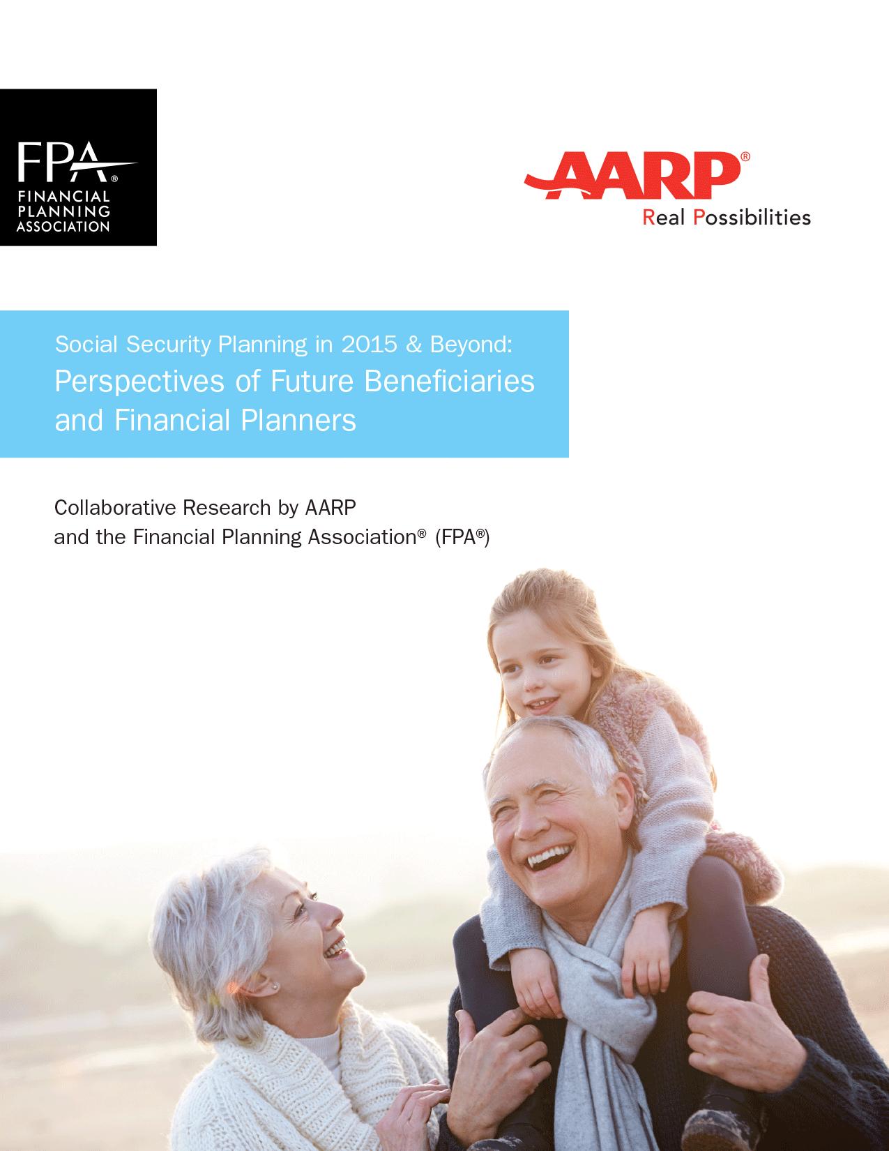 AARP/FPA Retirement Study