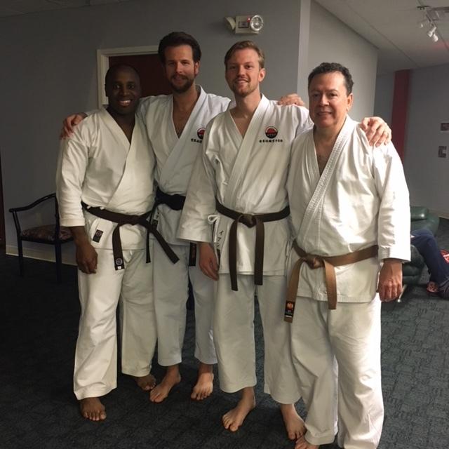 Traditional Karate Nashville members representing at WTKO's 1st Annual National Seminar