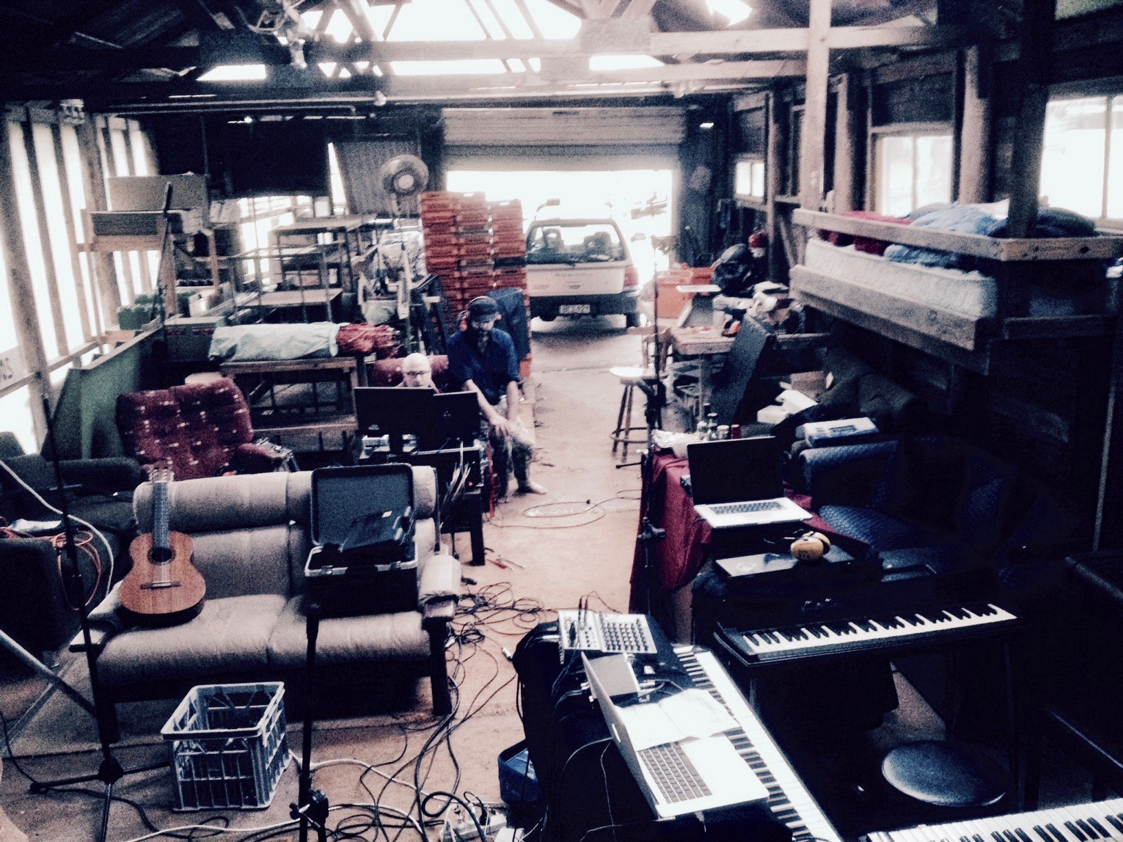 Packing Shed Recording Session
