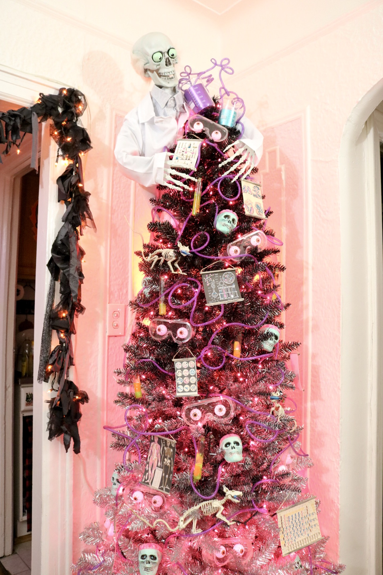 Diy Mad Scientist Halloween Tree With Treetopia Crafty Lumberjacks