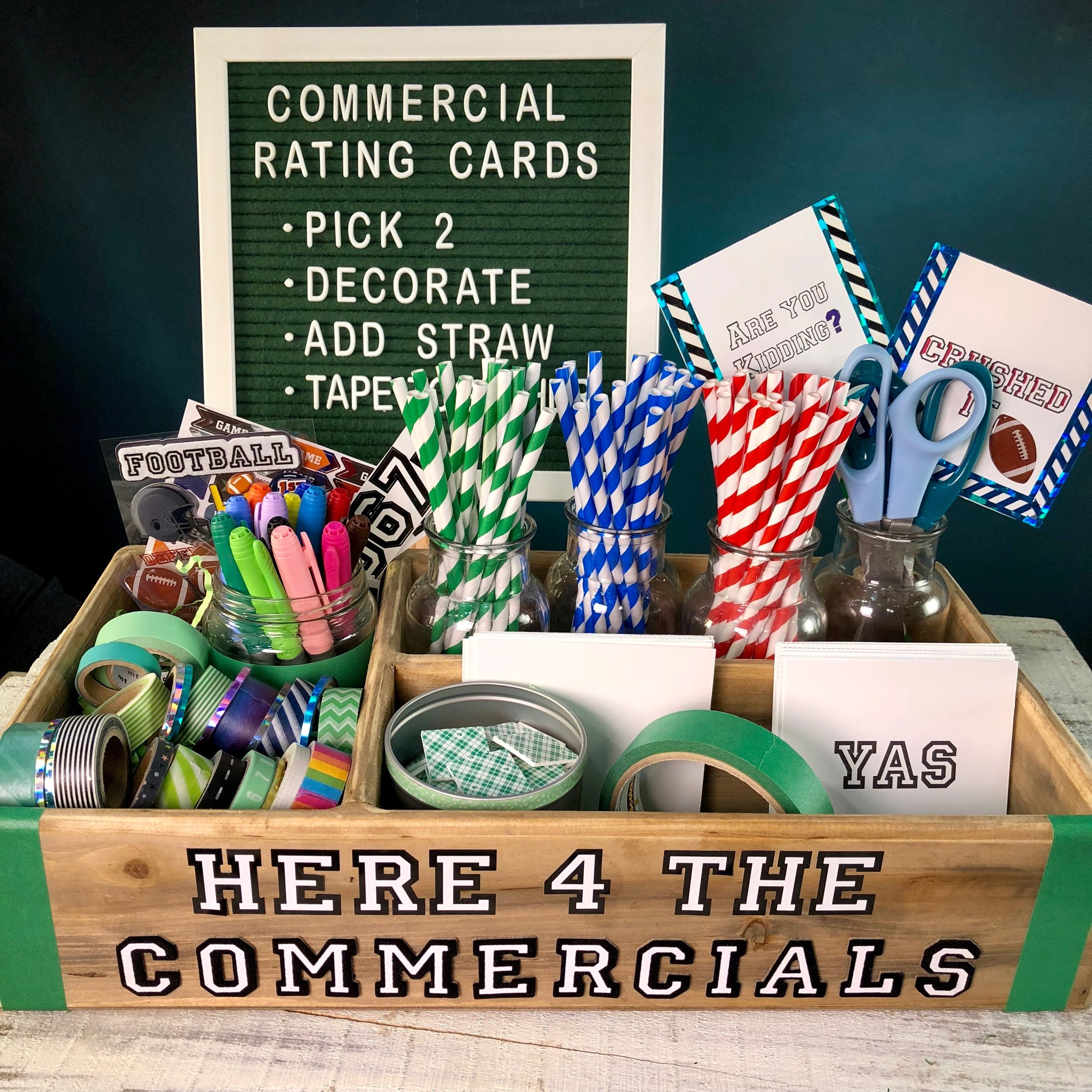COMMERCIAL SCORE CARD CRAFTING STATION