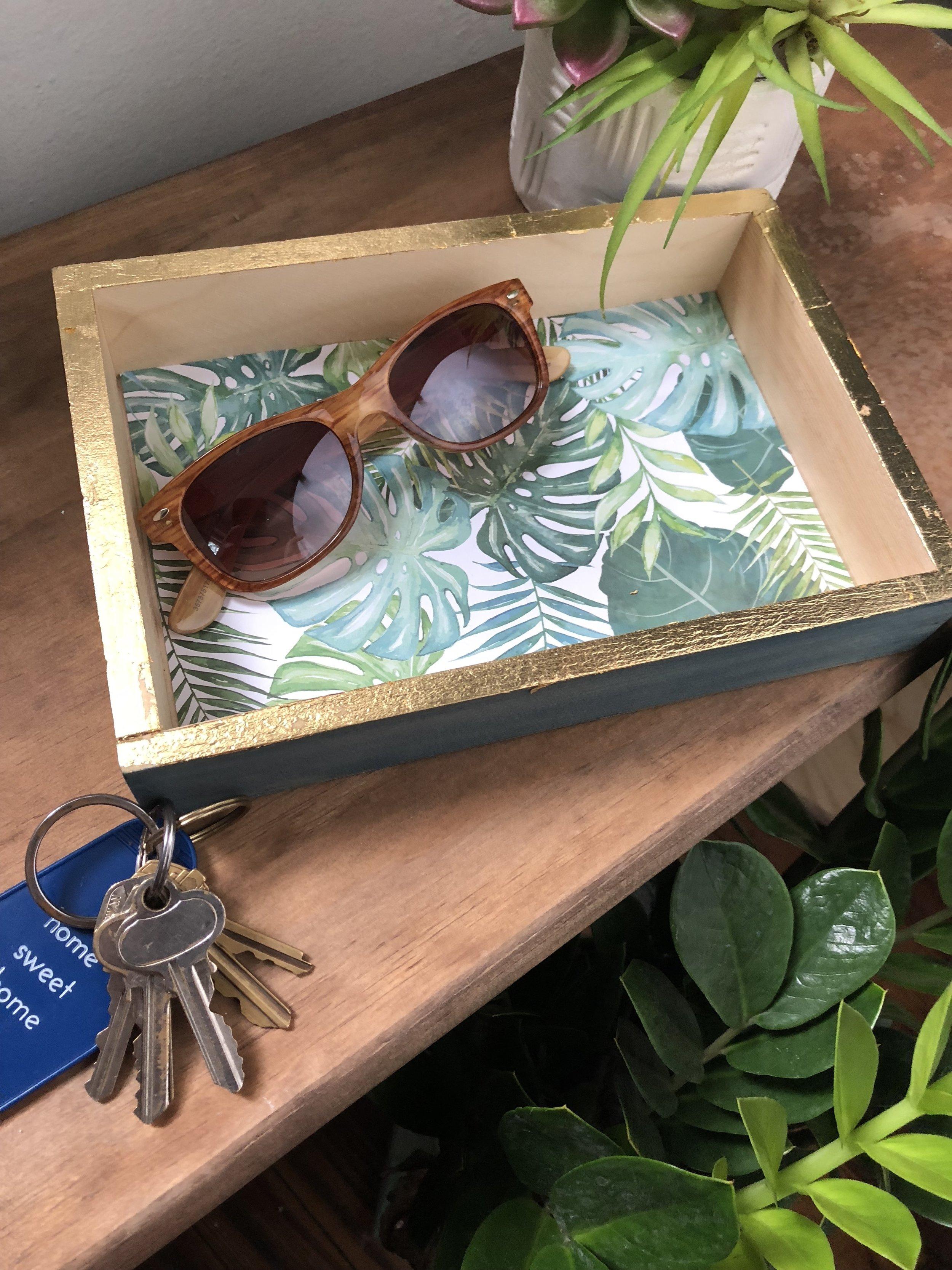 4 Easy Palm Leaf DIY's