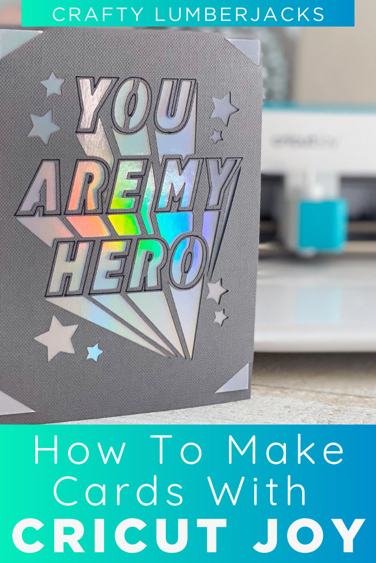 Make DIY Thank You Cards With Cricut Joy — Crafty Lumberjacks