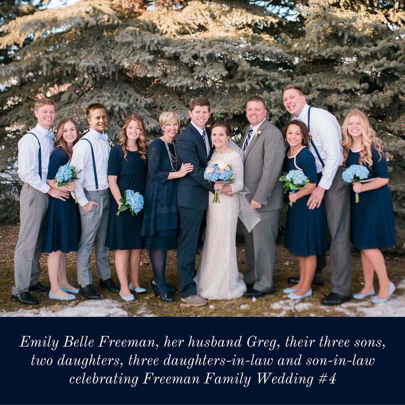 Emily Freeman and Family