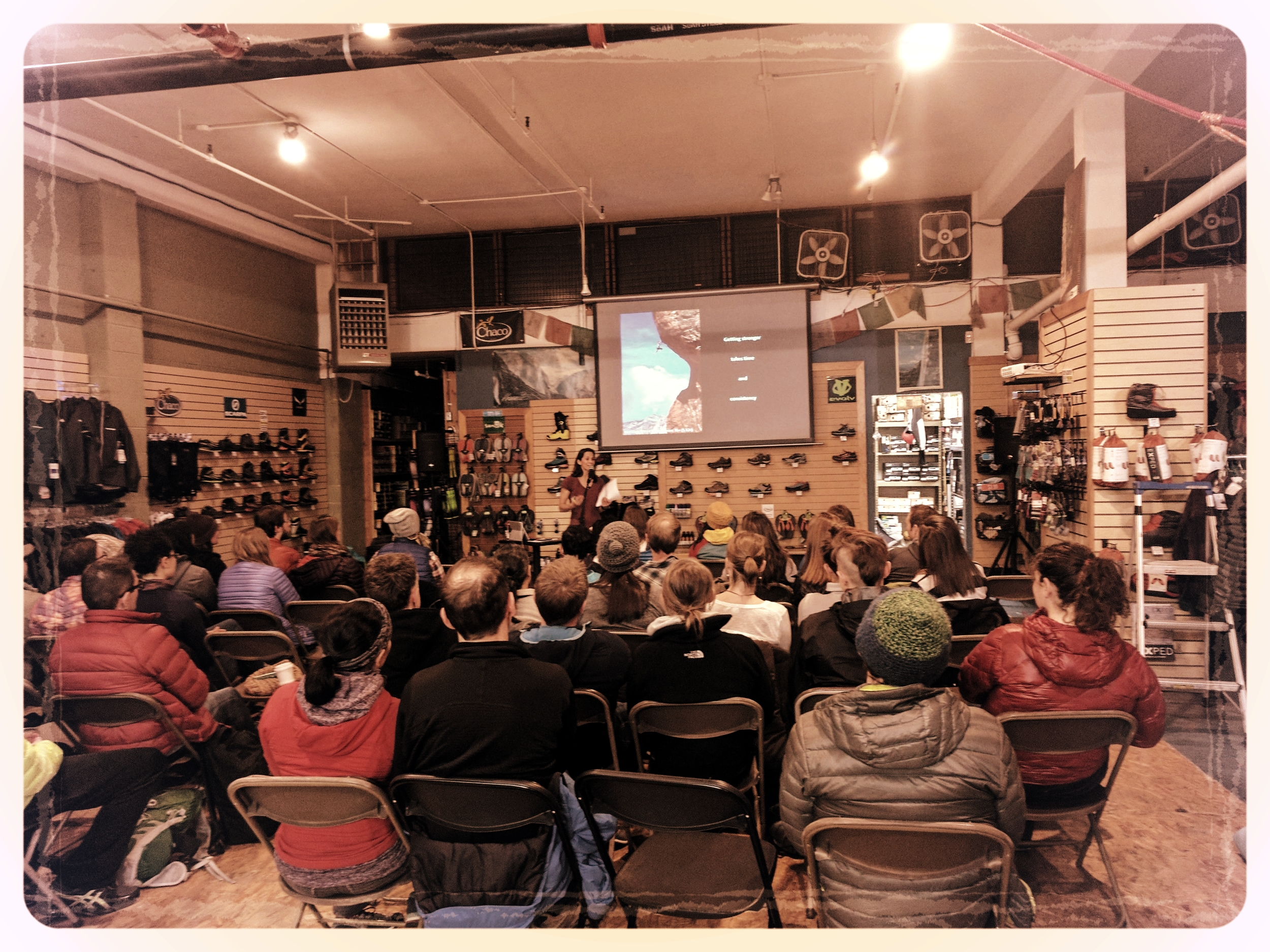Second Ascent has joined forces with Never Stop Moving to bring women of the climbing community together to be inspired by two bad-ass climbers,  Audrey Sniezek & Mercedes Pollmeier , as they discuss what training strategies work & don't work while incorporating proper nutrition to help meet your short & long-term goals. Walk away from the event with an appreciation for movement training and the benefits to one's climbing and overall fitness.