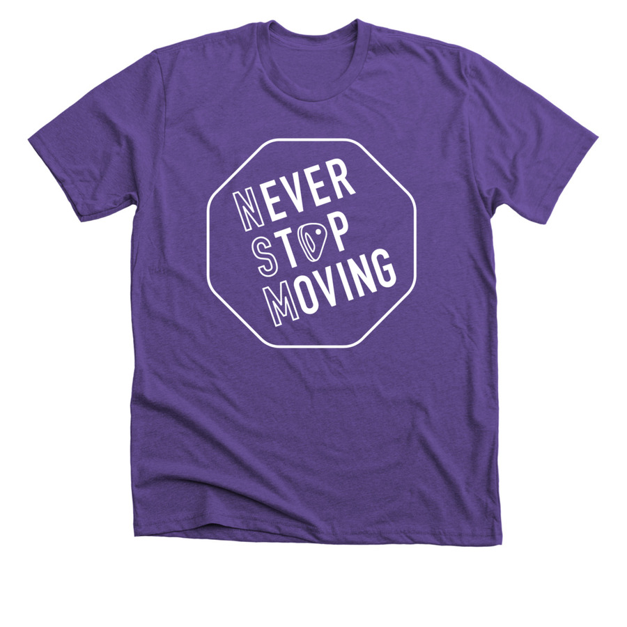 Purple Rush T-Shirt Front