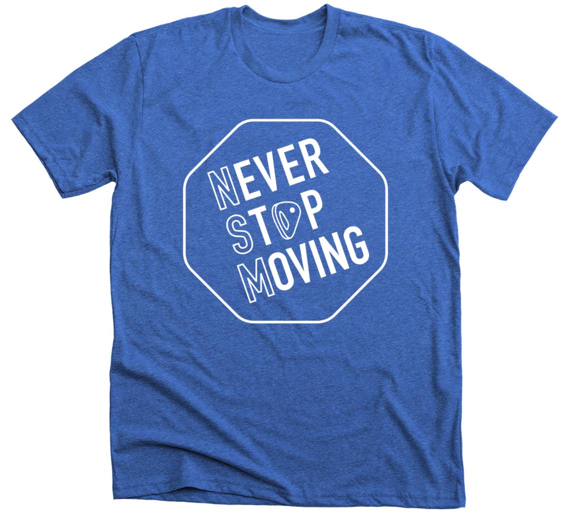 Royal Blue T-Shirt Front