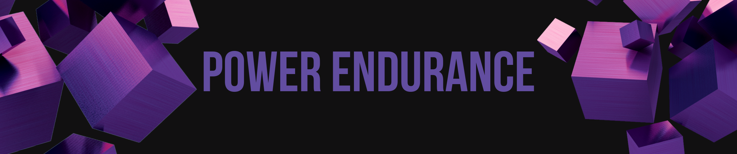 Power Endurance Drills Banner