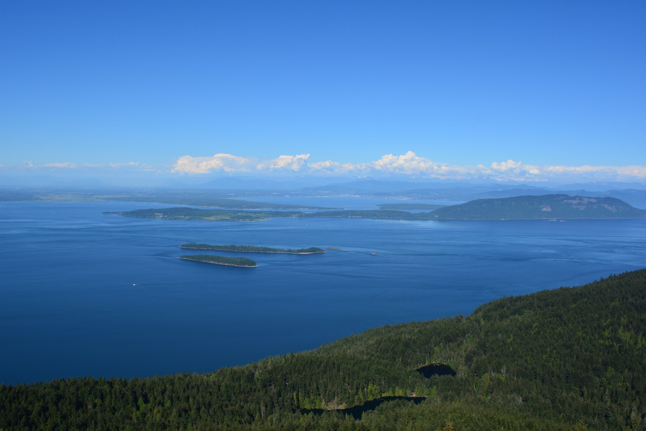 Mount Constitution - One of the main draws on Orcas Island, the view from the summit of Mount Constitution does not disappoint.