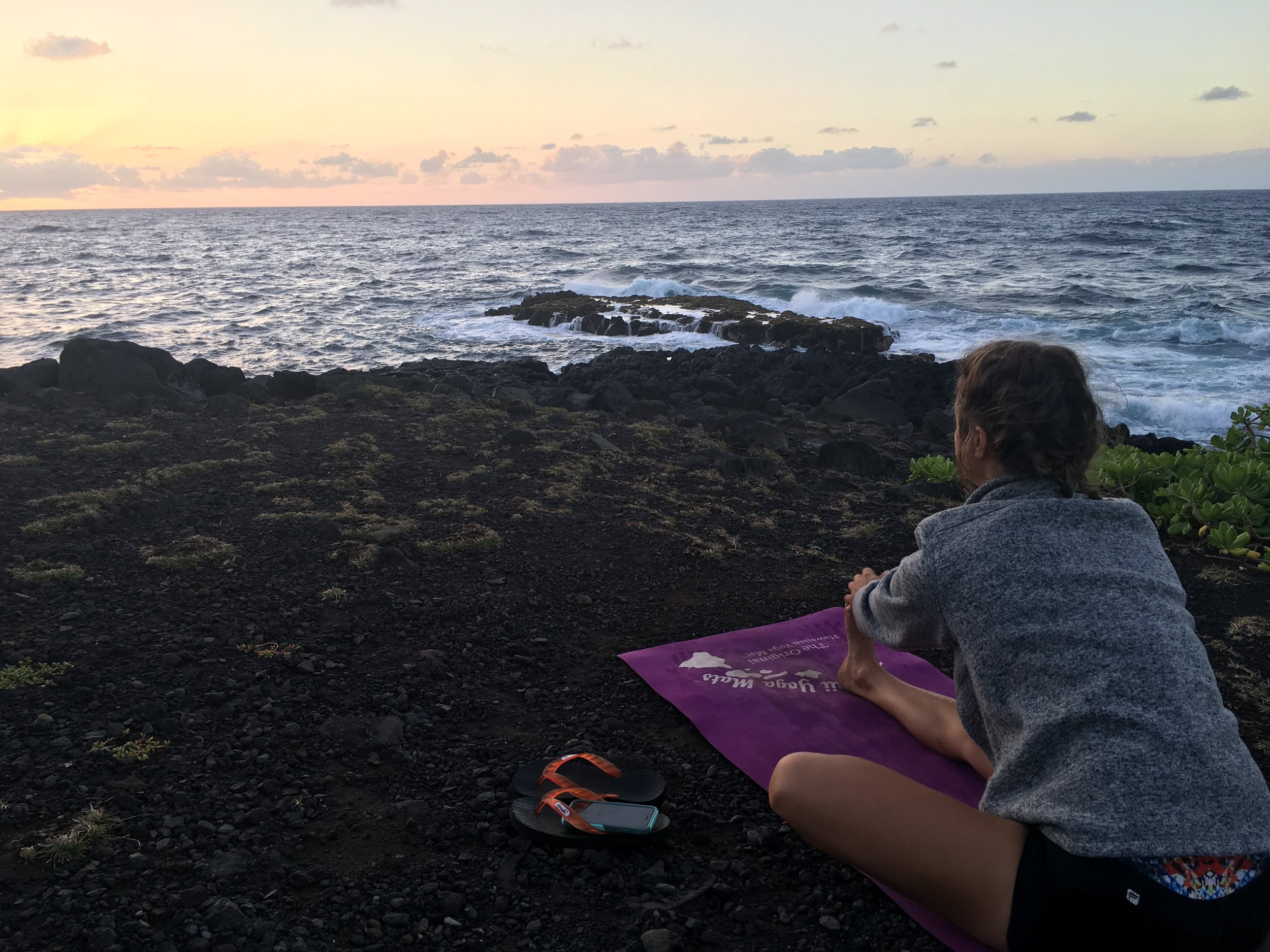 Yoga in Hana