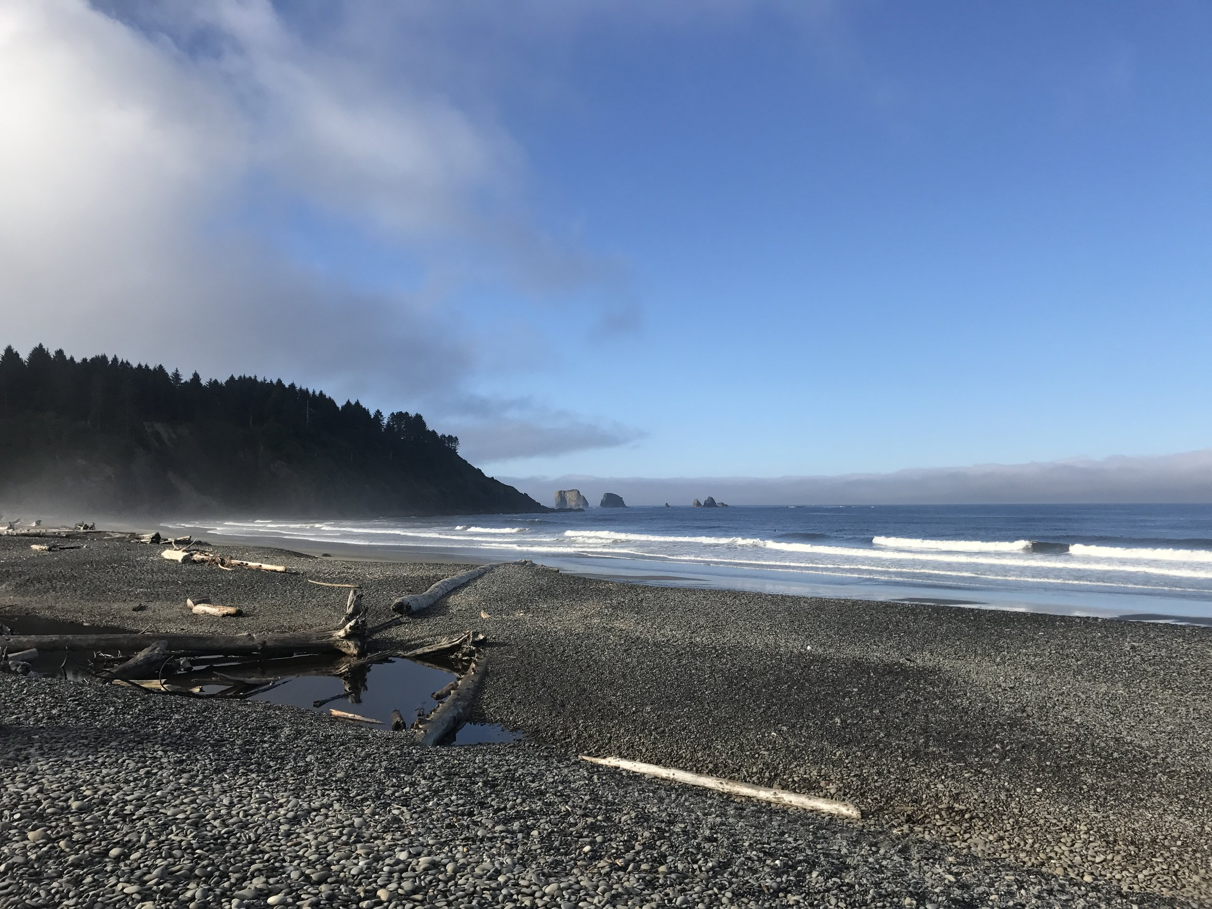 Morning at First Beach in La Push, WA