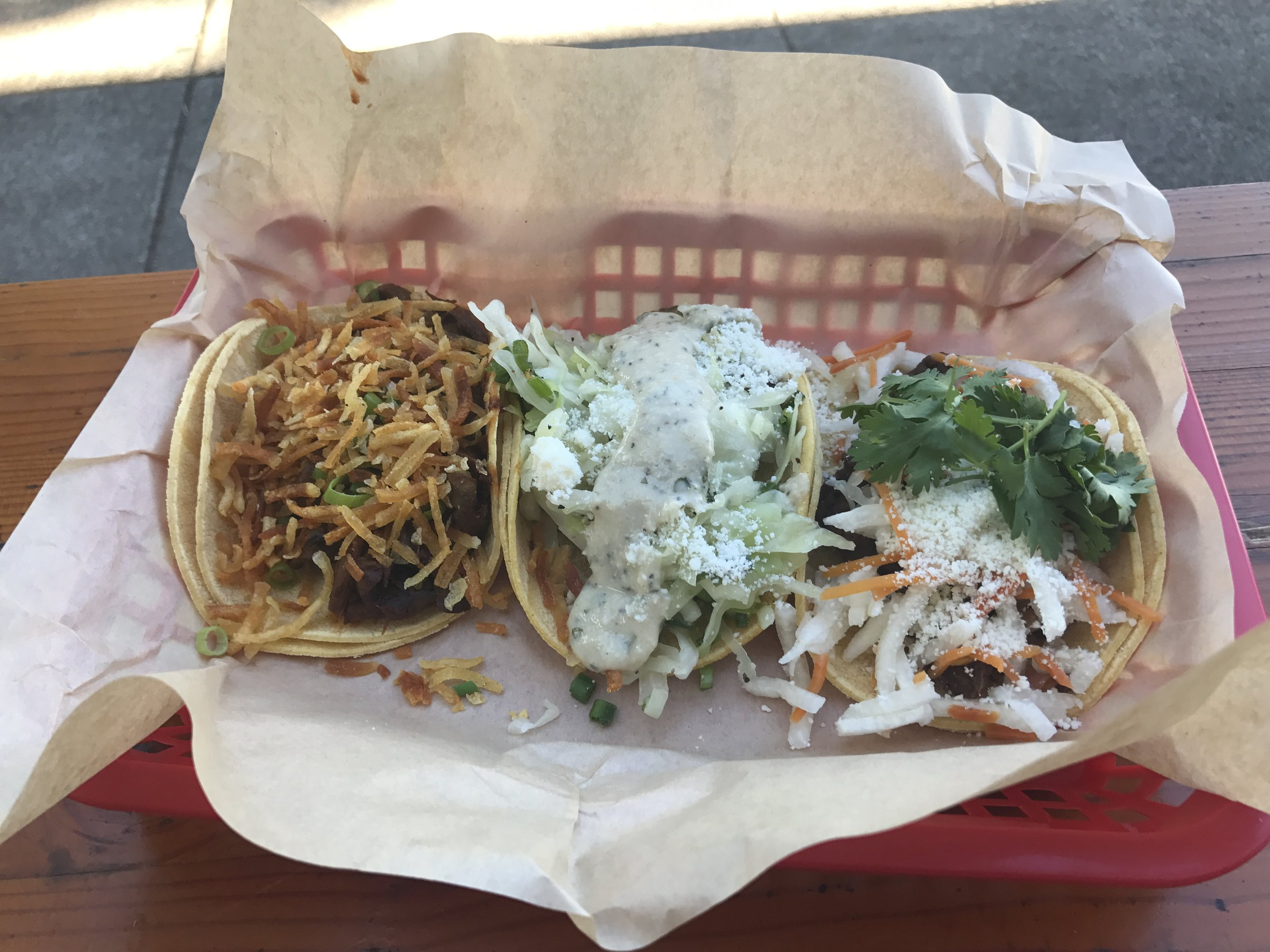 Stella tacos - lunch in Portland
