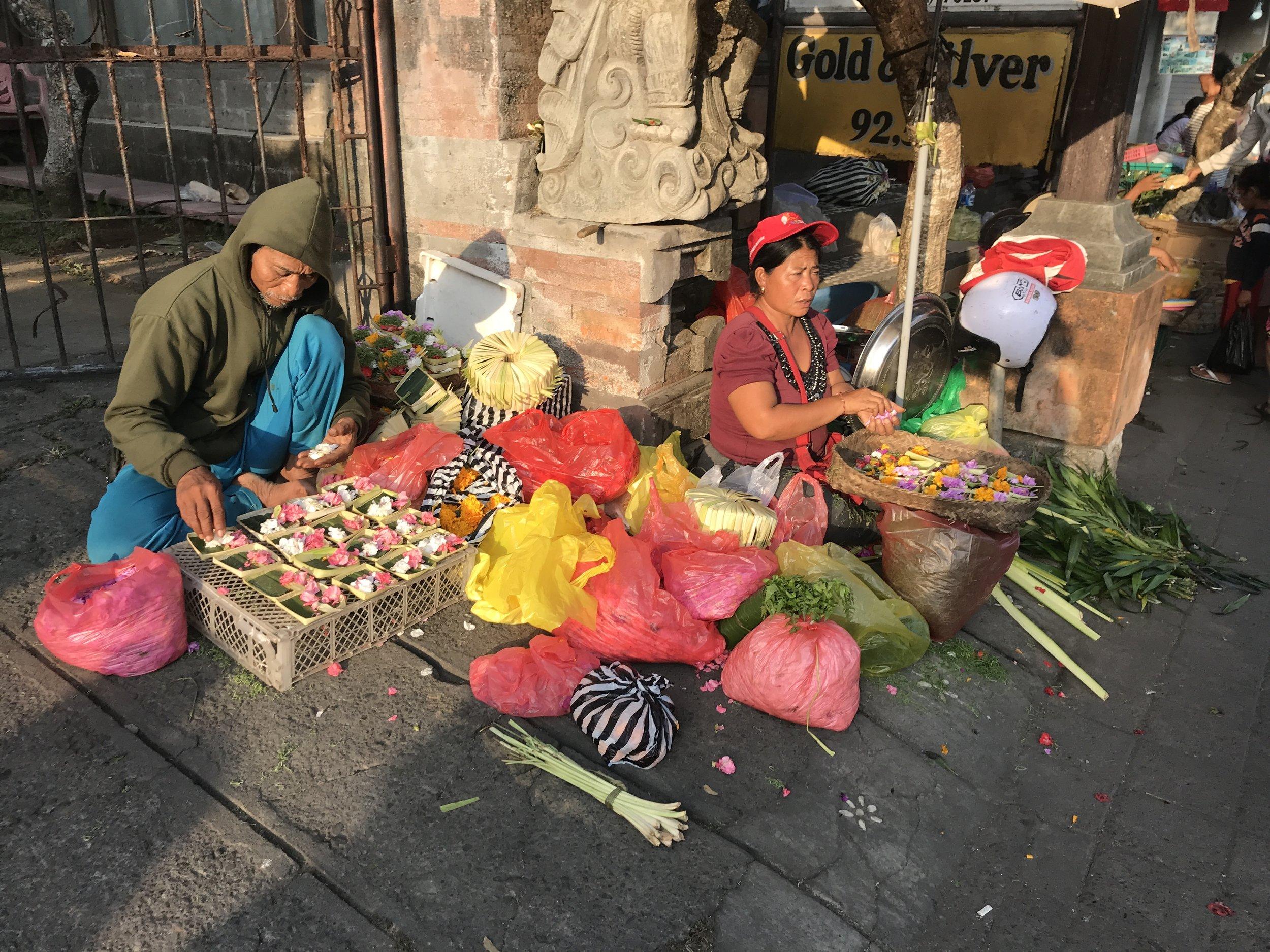 Local Balinese Market