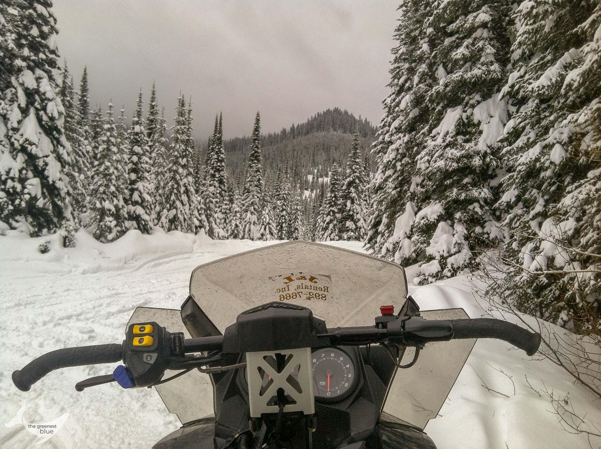 Winter in Coeur d'Alene, Idaho
