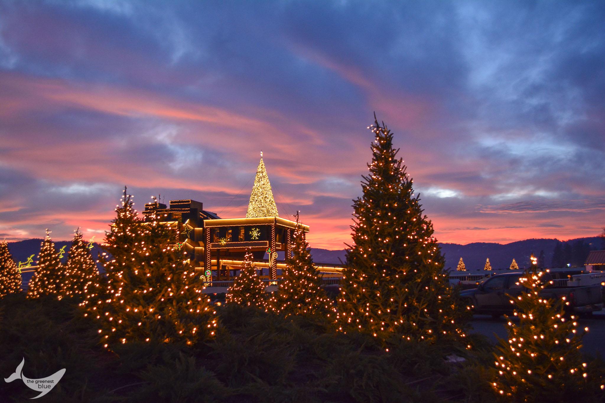 Holidays in Coeur d'Alene, Idaho