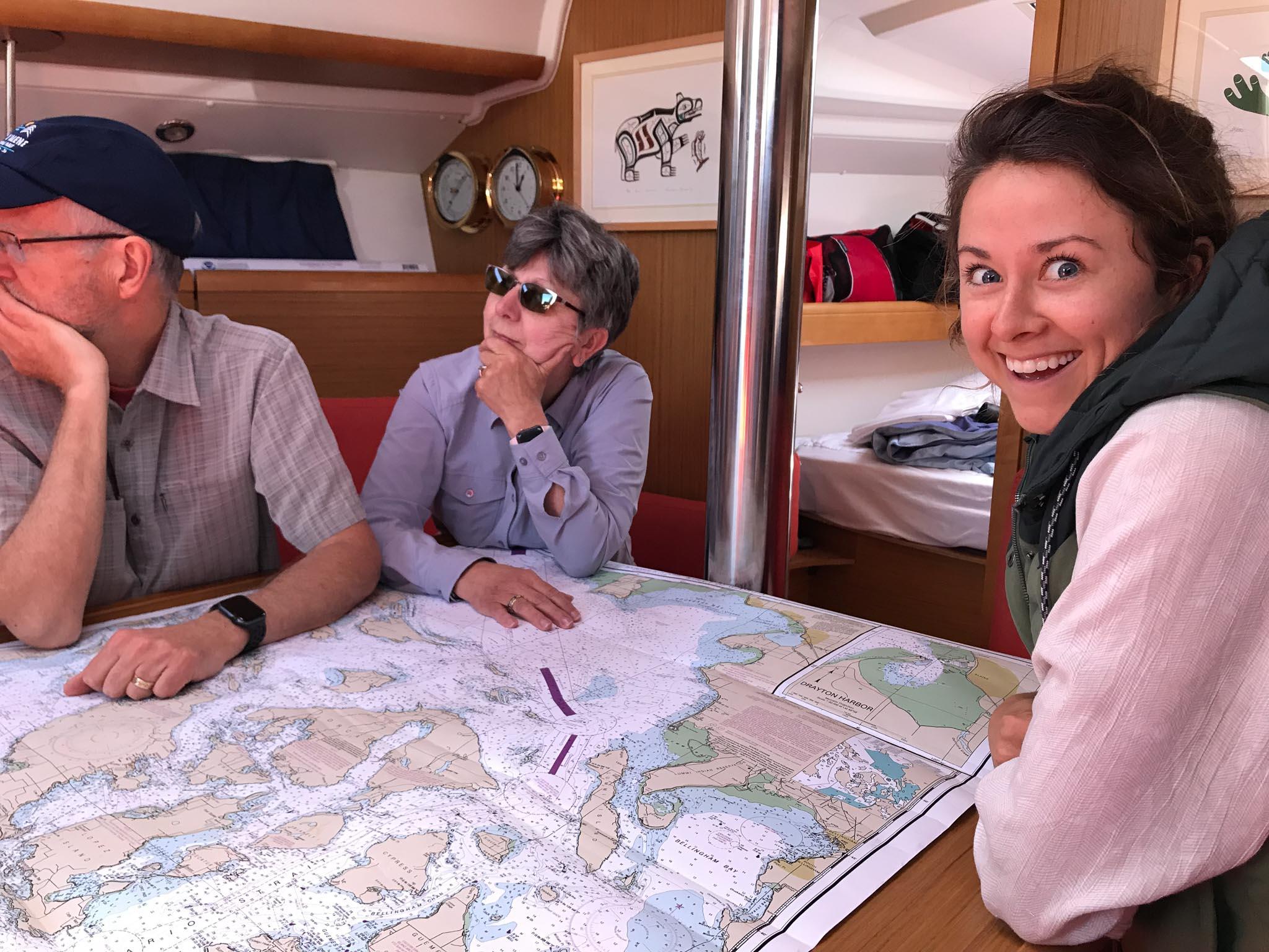 Sailing in the San Juans