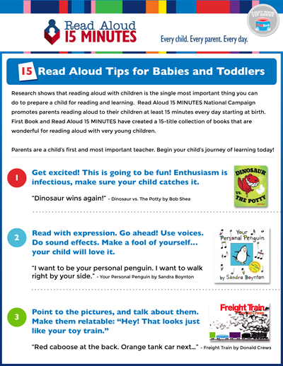 - 15 Read Aloud Tips from readaloud.org