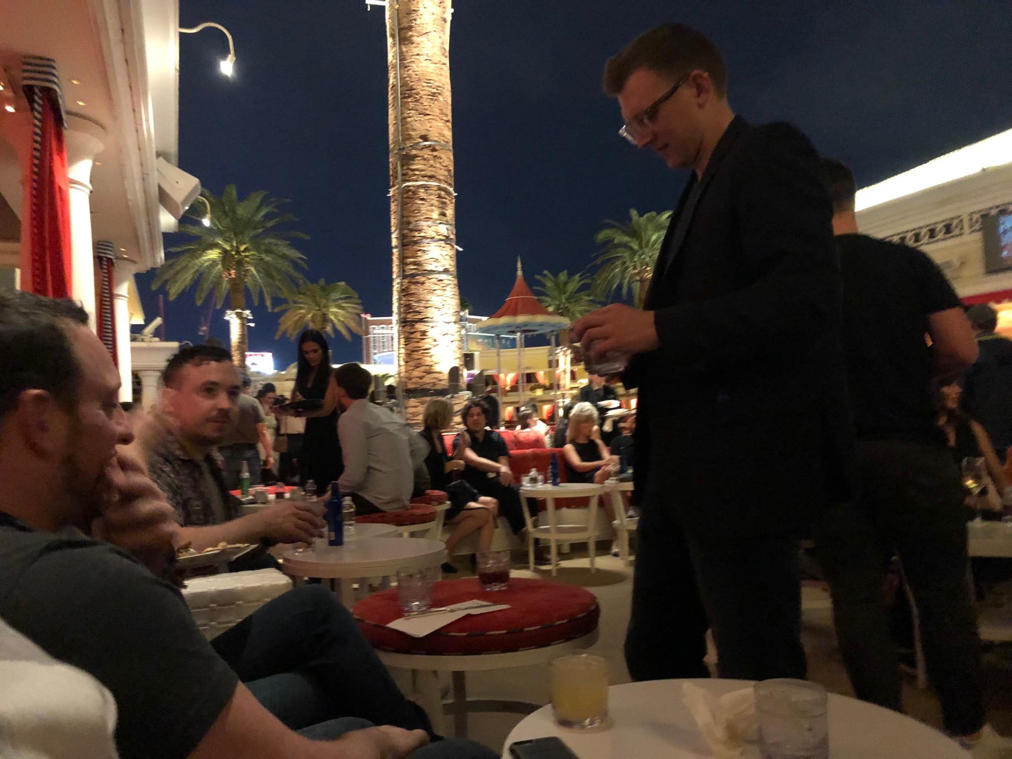 Judge's cocktail reception