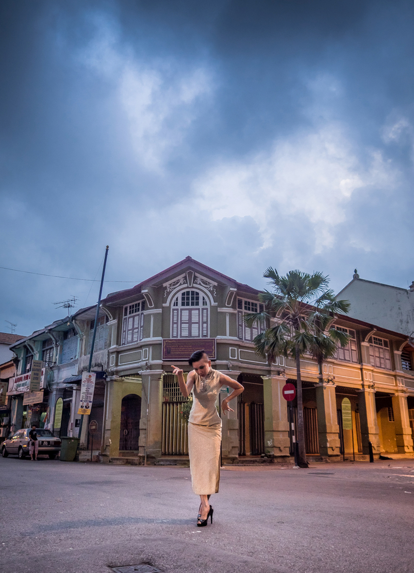 Crossroads at Dawn , Penang,2015 | Image: Andy Cox