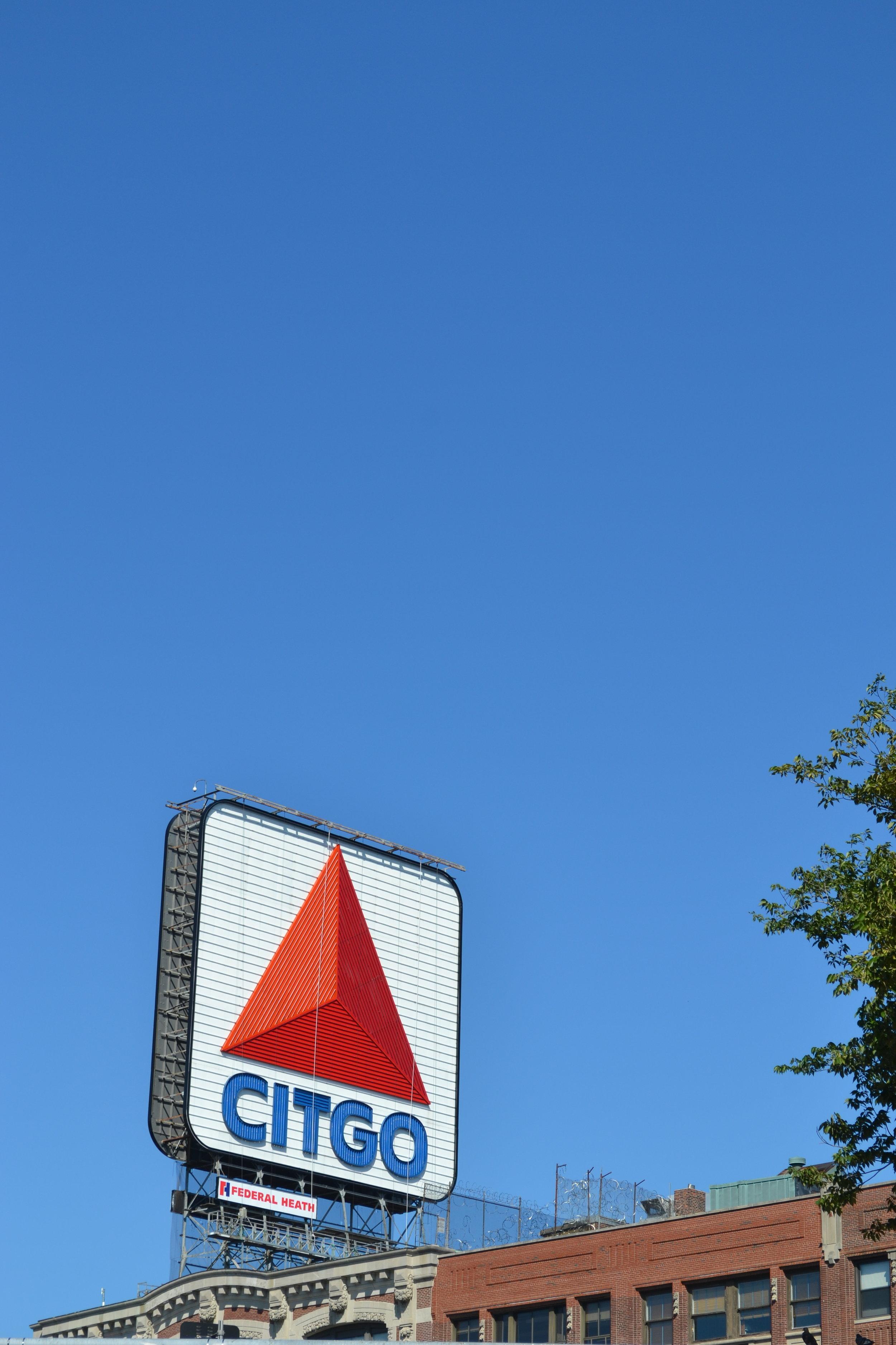 citgo sign; boston; fenway; bri rinehart
