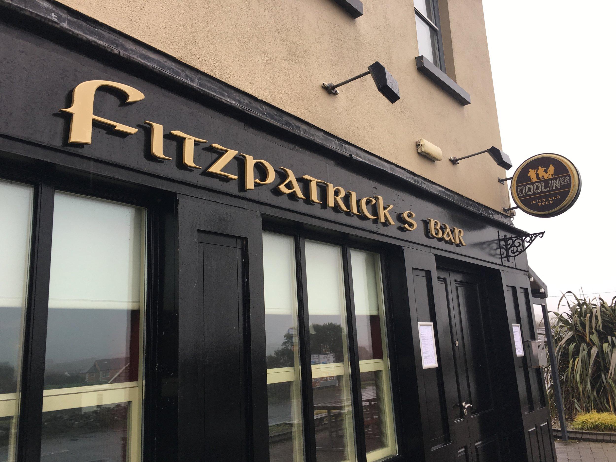 doolin; fitzpatrick's pub; ireland