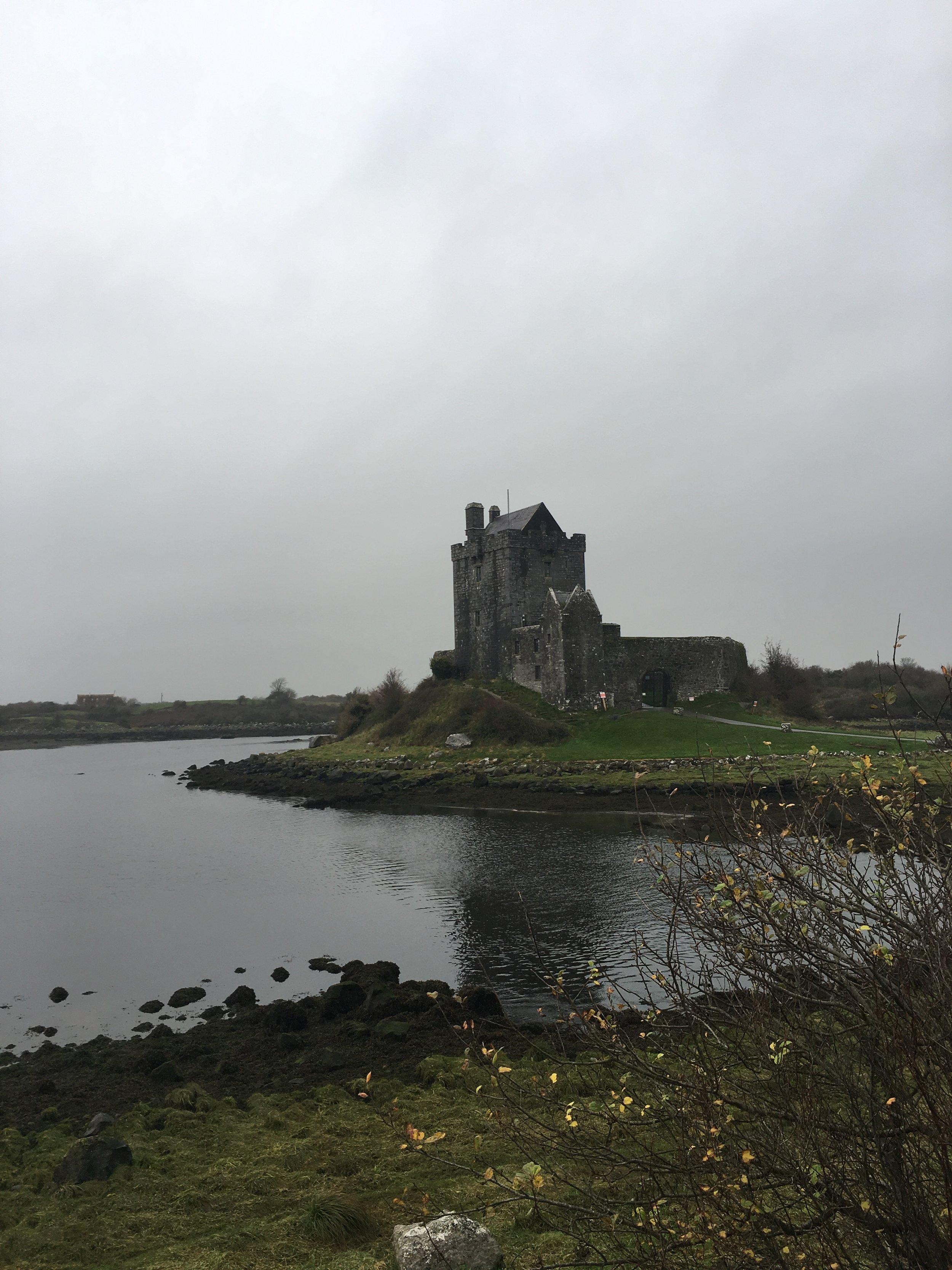 dunguaire castle; ireland; bri rinehart