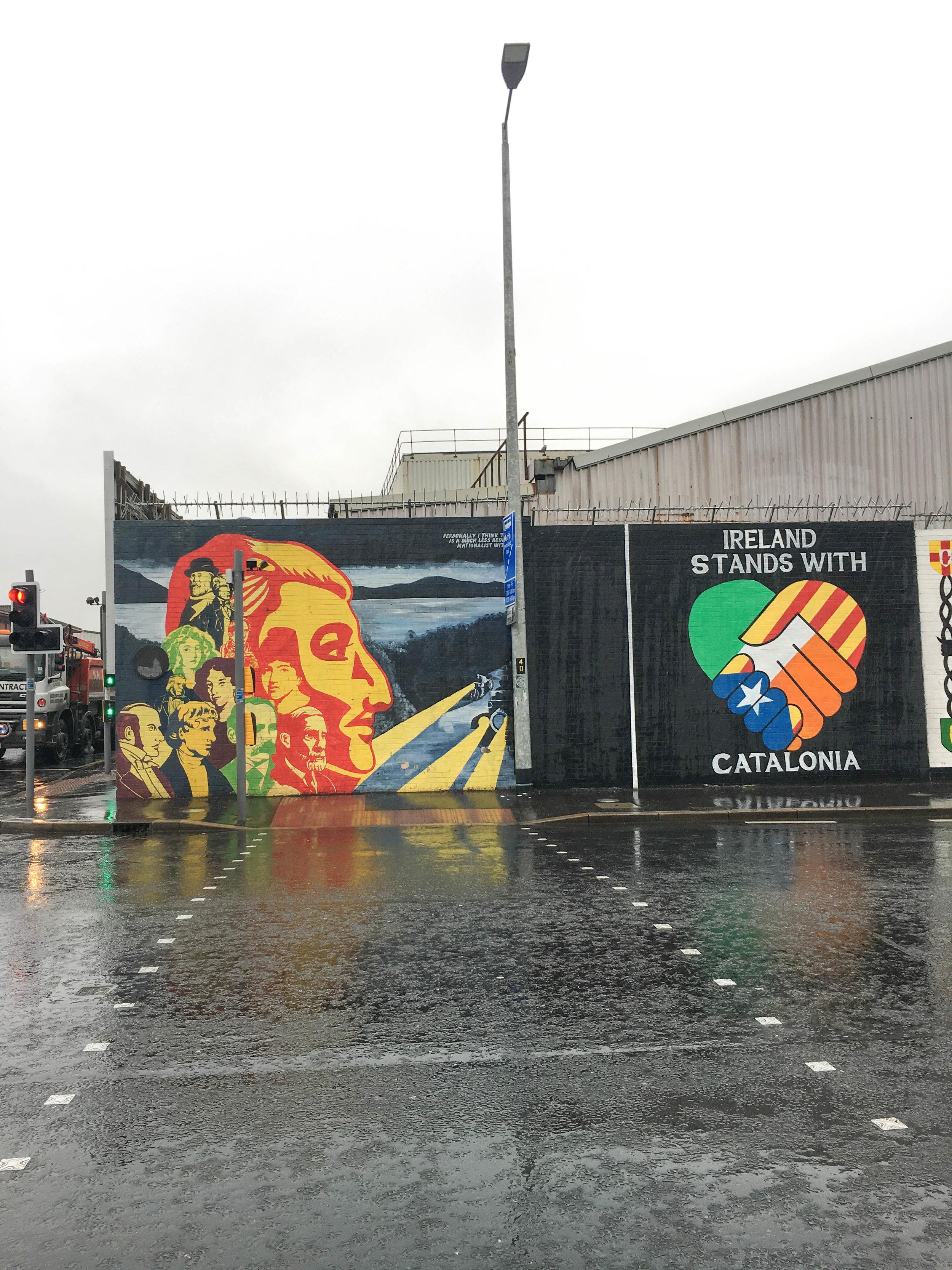 belfast; mural; bri rinehart