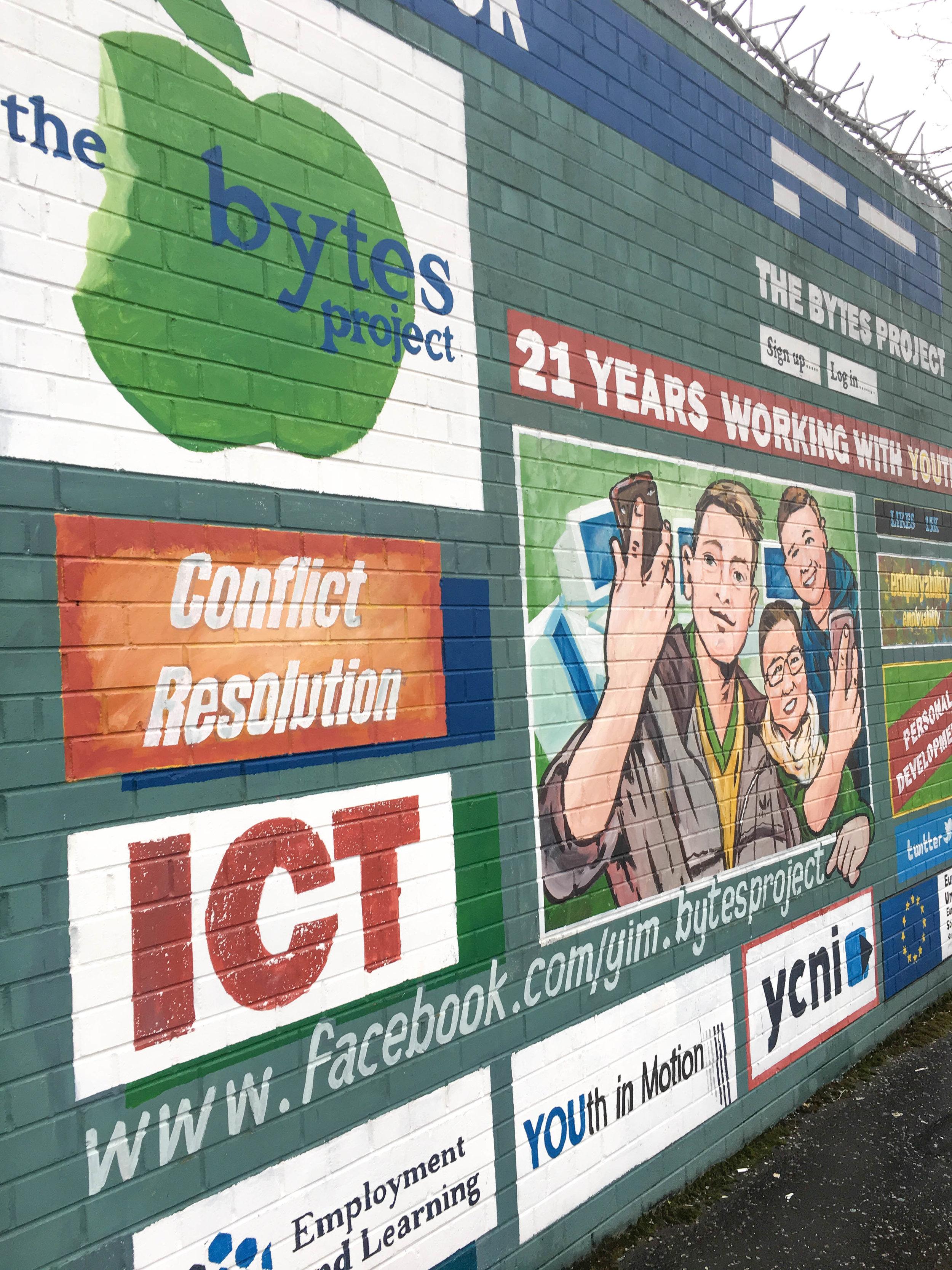 mural; belfast; ireland; bri rinehart