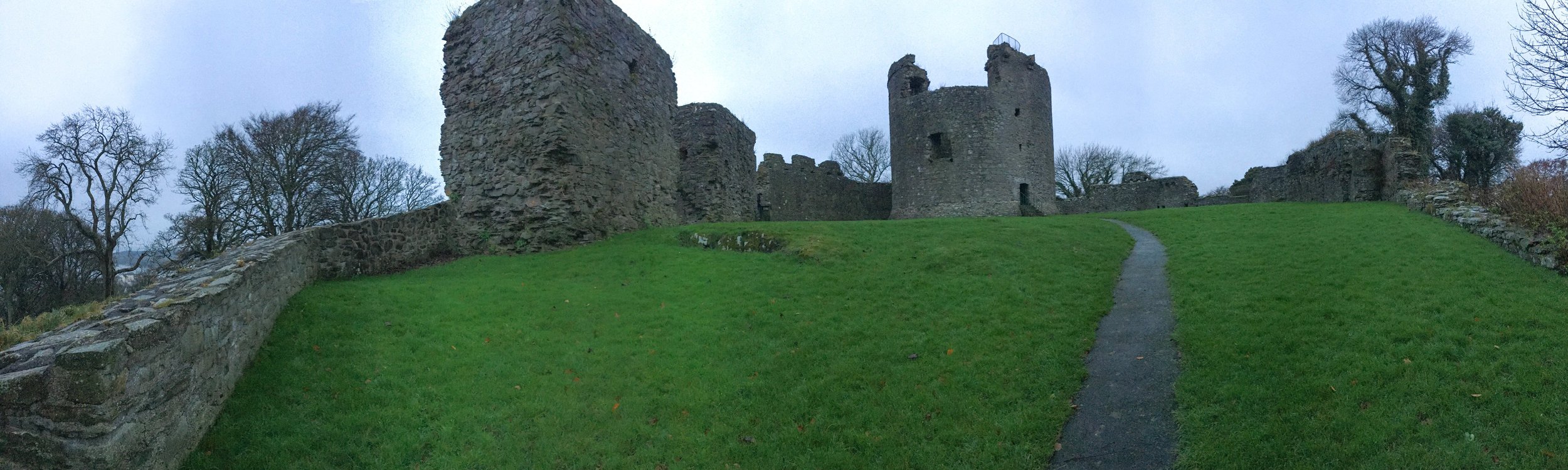 dundrum castle; ireland; bri rinehart