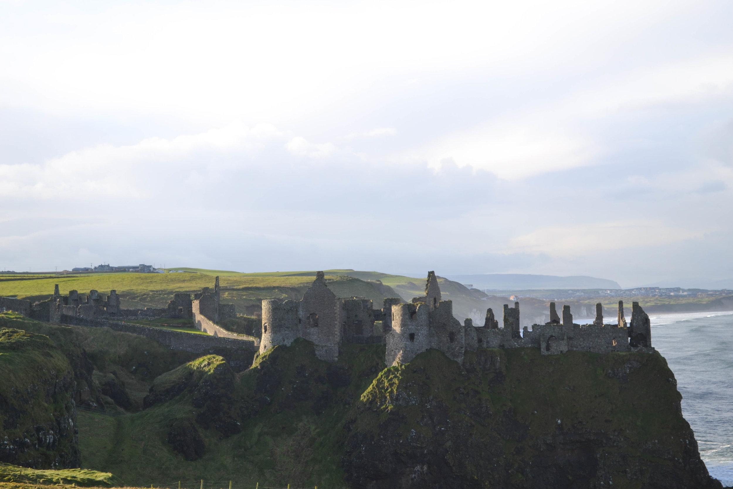 dunluce castle; game of thrones; ireland; bri rinehart