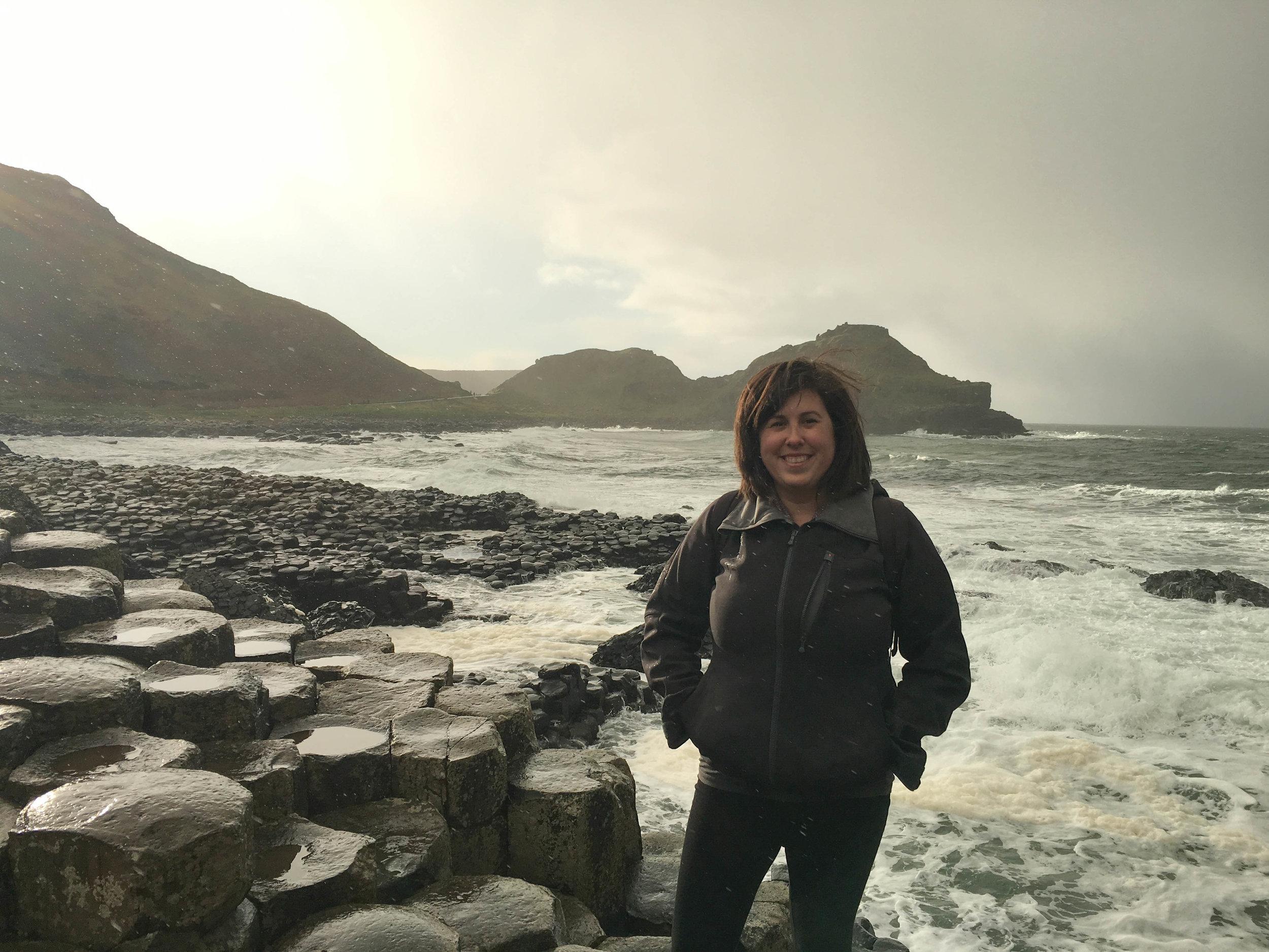 bri rinehart; ireland; giant's causeway