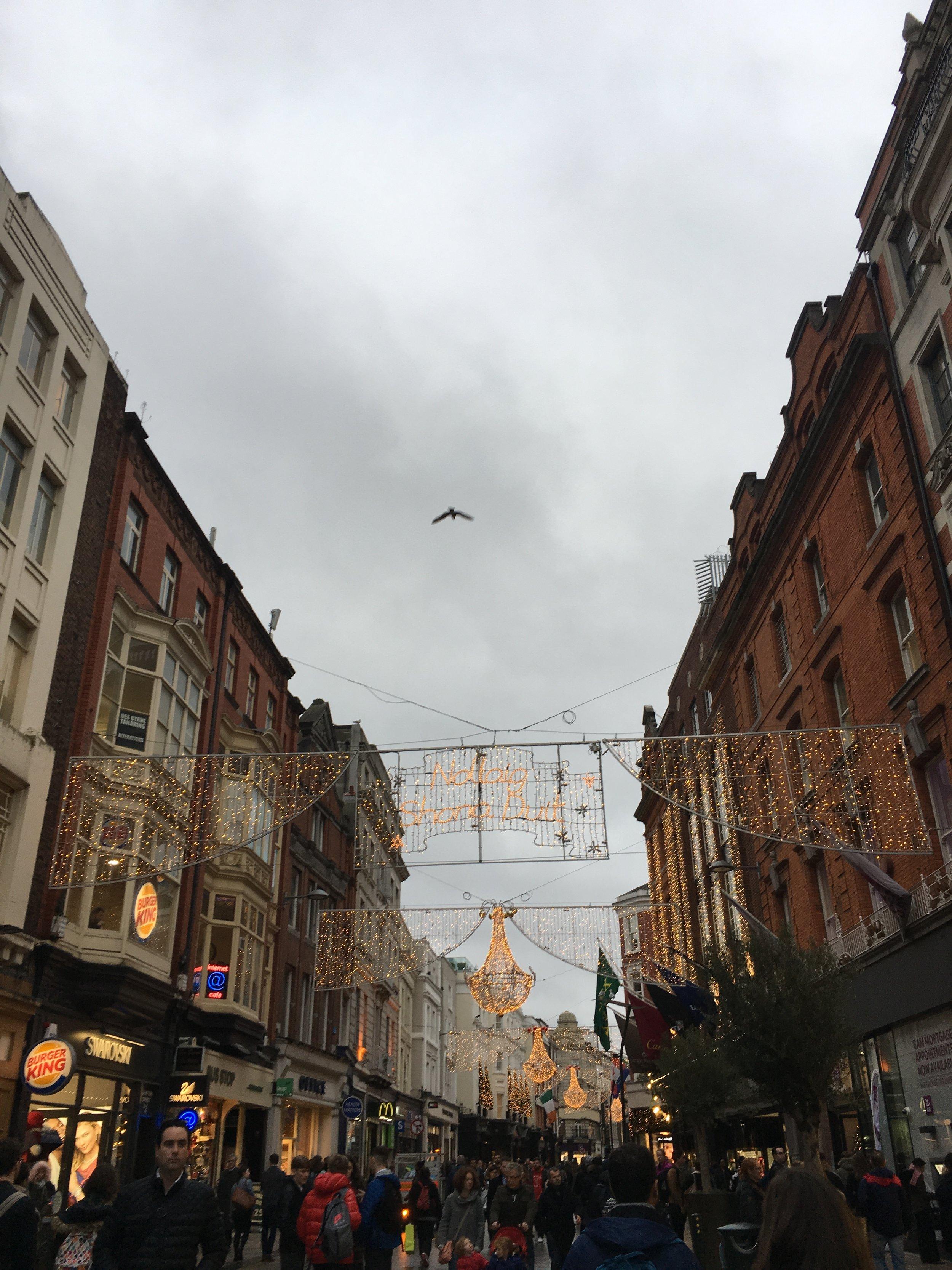 bri rinehart; dublin; ireland; grafton street
