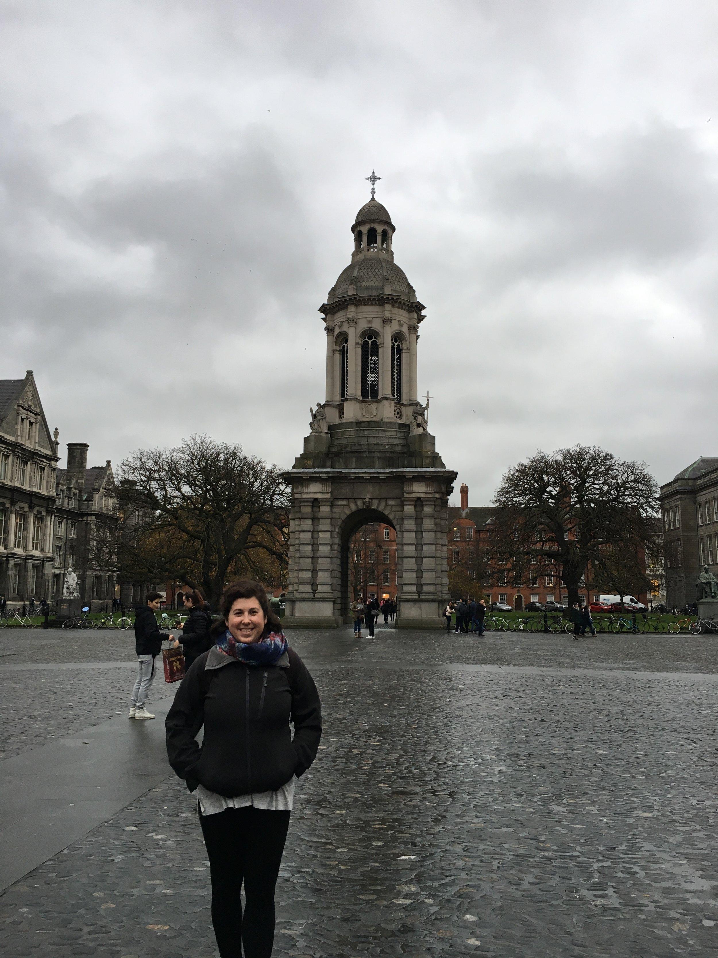 trinity college; ireland; dublin; bri rinehart