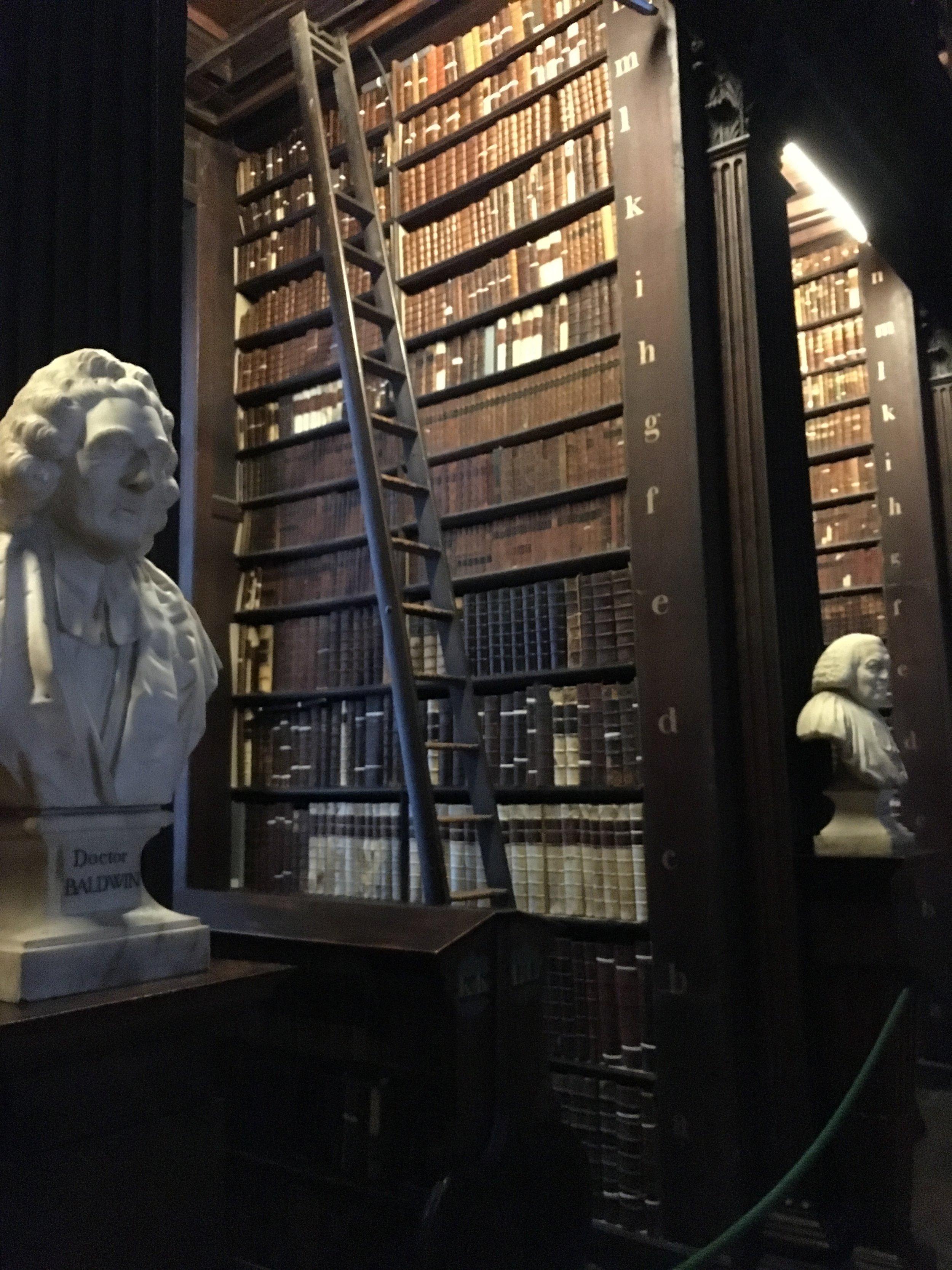 bri rinehart; long library; dublin; ireland; trinity college