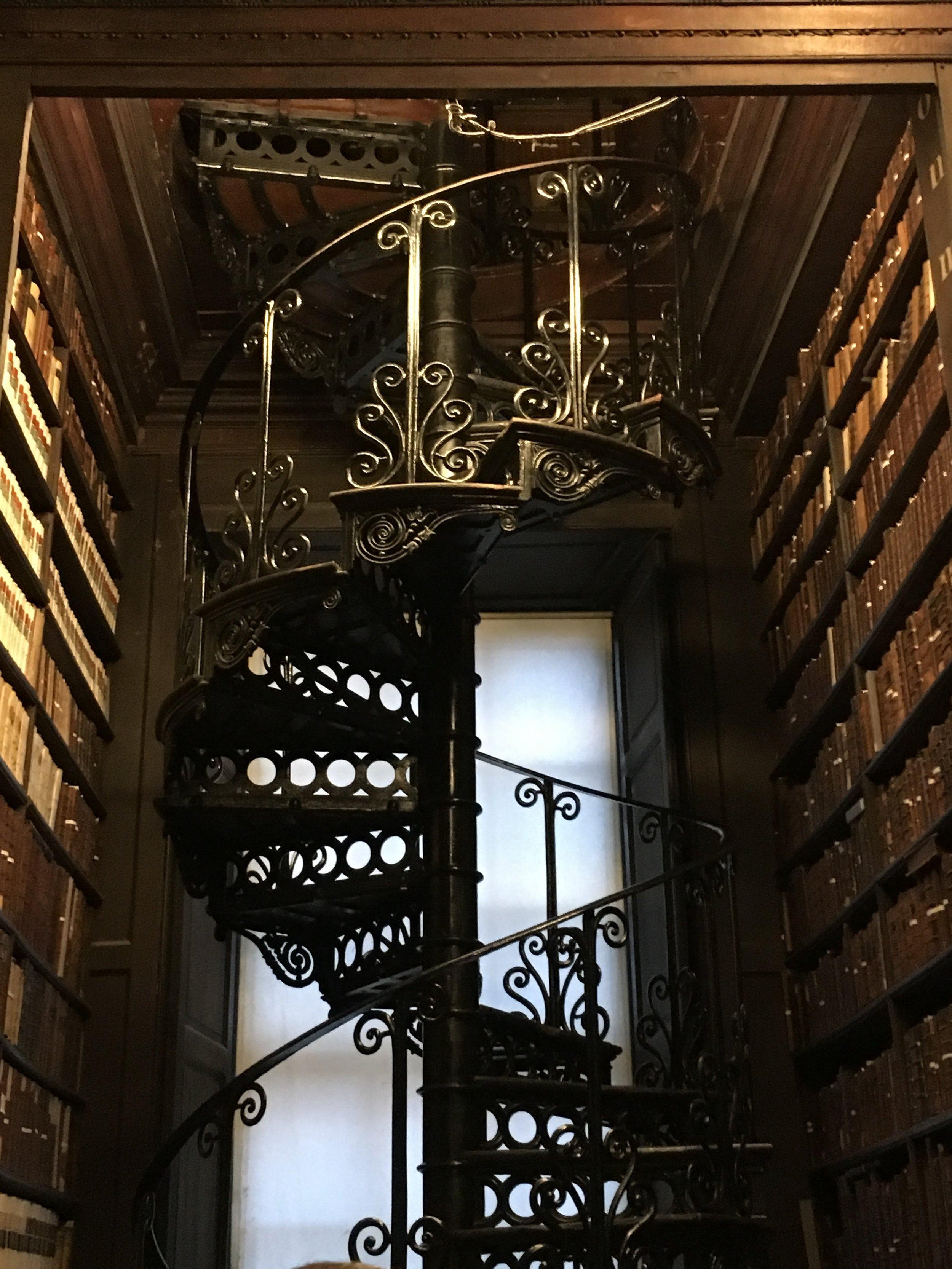 bri rinehart; dublin; ireland; long library; trinity college