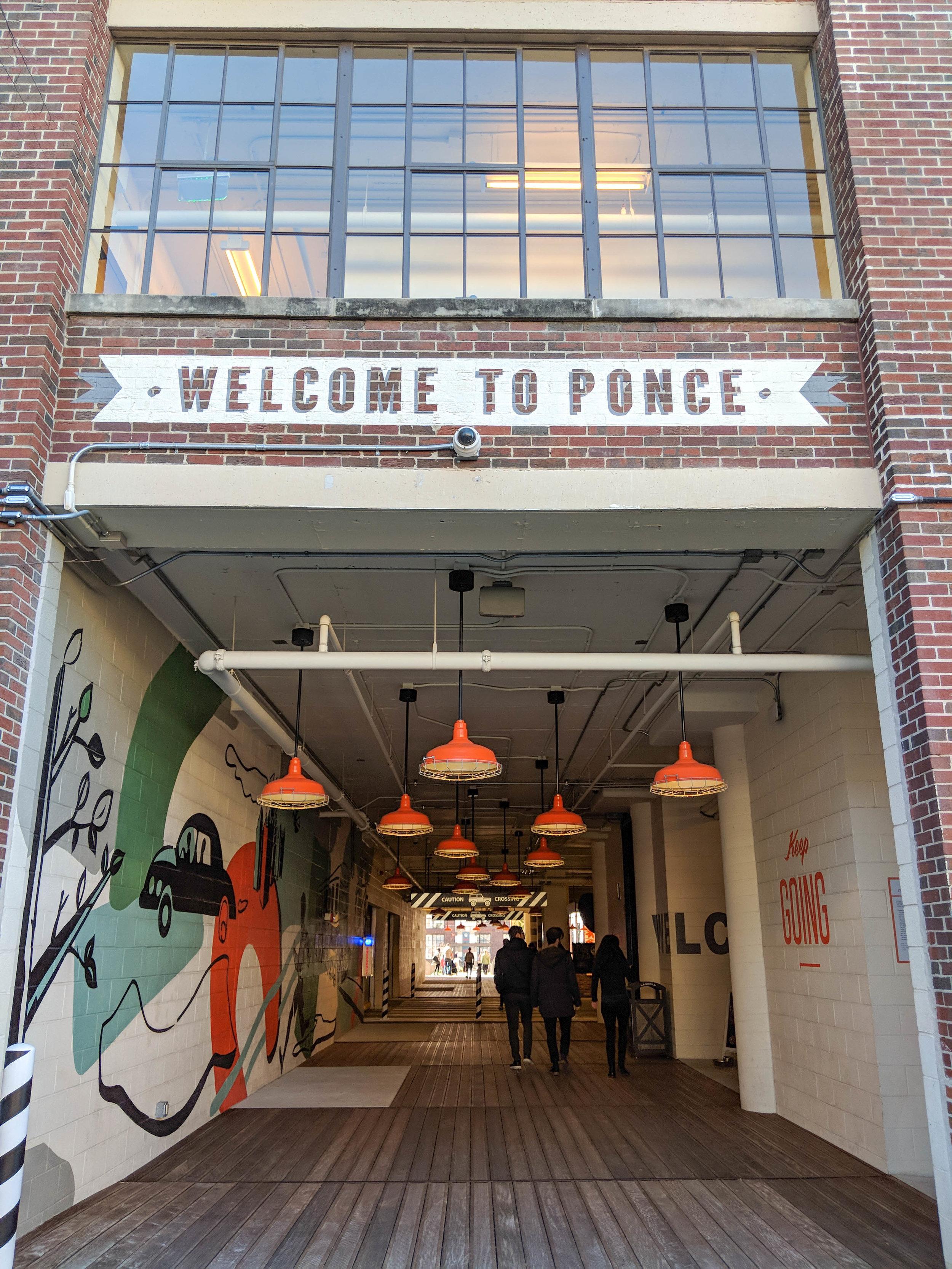 ponce city market; atlanta; bri rinehart